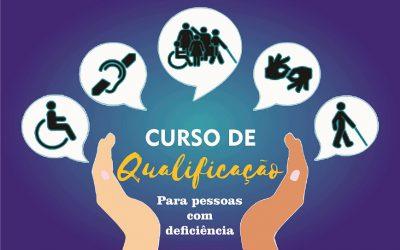 Curso de qualificação de pessoas com deficiência