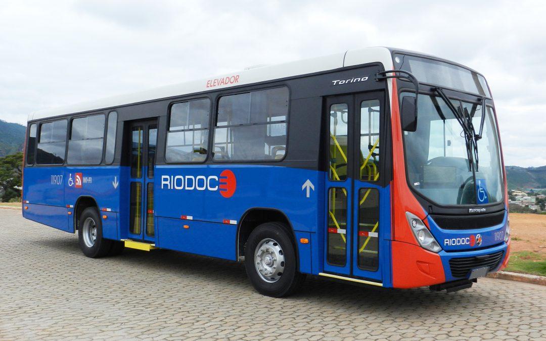 Riodoce investe em renovação da frota do transporte público de Caratinga